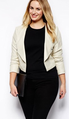 crop jacket Asos